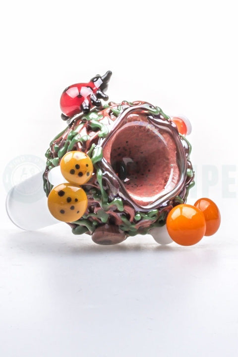 Empire Glassworks - 14mm Male Deep Forest Glass Bowl