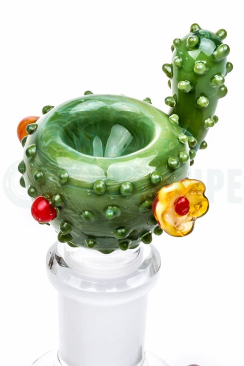 Empire Glassworks - Cactus Glass Bowl - 14mm Male