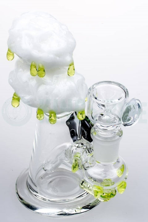 Empire Glassworks - Radioactive Cloud Mini Dab Rig