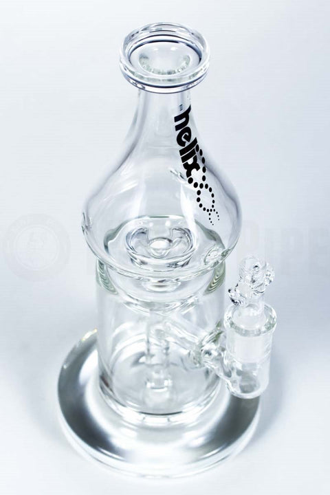 Grav Labs - Helix Flare Water Pipe with Fixed Downstem