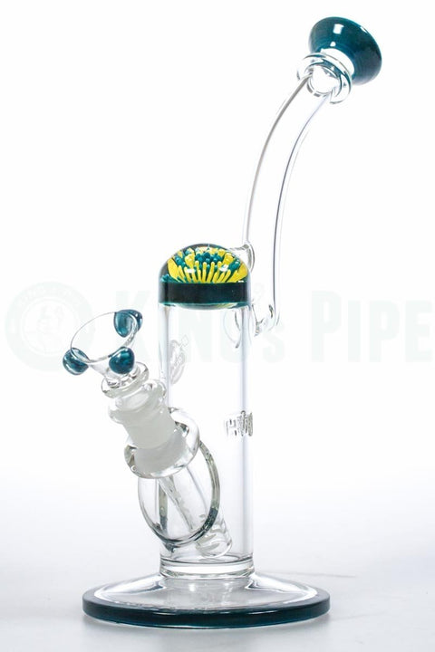 HVY Glass - Implosion Flower Marble Bubbler