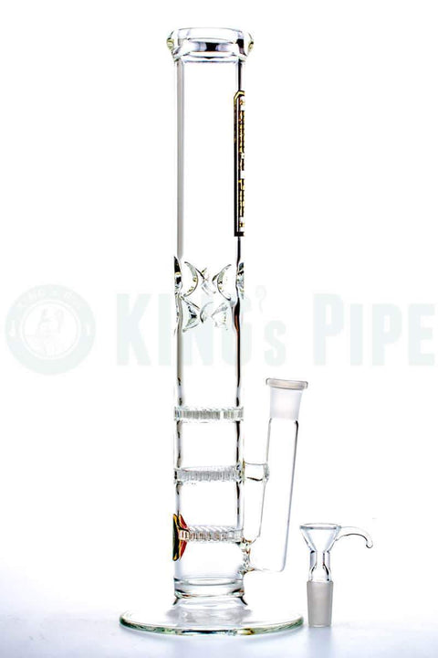 13'' Triple Honeycomb Skinny Bong