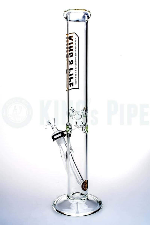 KING's Pipe Glass - 18 Inch Straight Water Pipe Bong