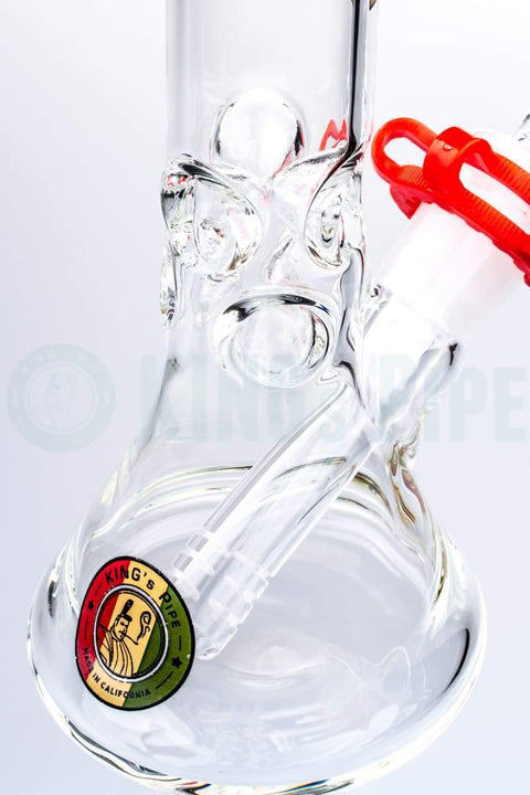 KING's Pipe Glass - 8'' Skinny Beaker Bong