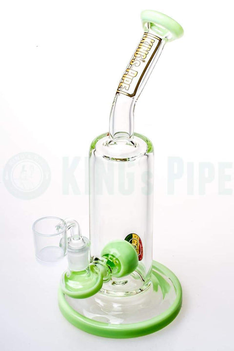 KING's Pipe Glass - 10 Inch Ball Perc Dab Rig