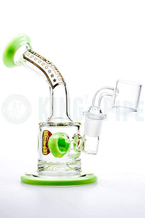 KING's Pipe Glass - Ball Perc Mini Dab Rig