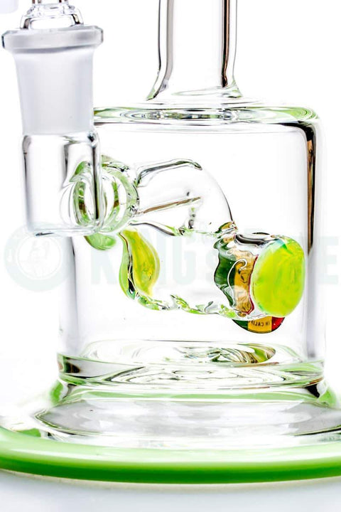 KING's Pipe Glass - Crossbar Inline Perc Dab Rig