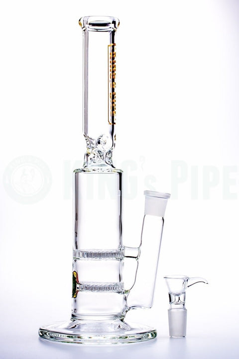 KING's Pipe - Double Honeycomb Water Pipe
