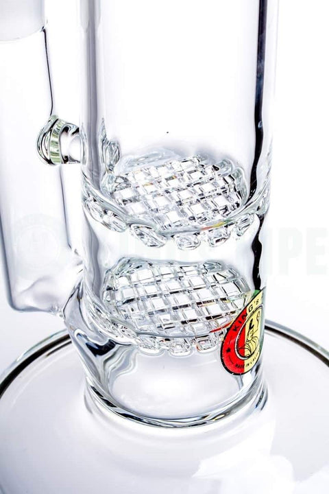 KING's Pipe - Double Waffle Water Pipe