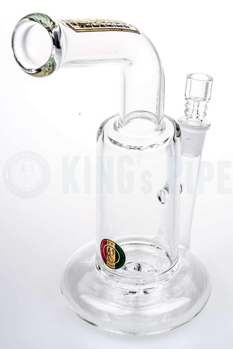 KING's Pipe Glass - Tornado Cyclone Swirling Water Pipe