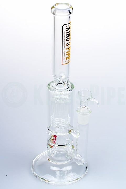 KING's Pipe Glass - Tornado to Tree Perc Water Pipe