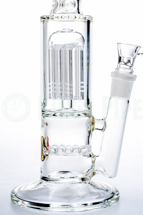 KING's Pipe Glass - Waffle to Tree Perc Water Pipe