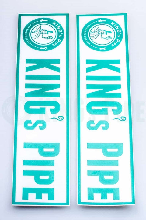KING's Pipe -  Pack of 2 KP Rectangle Stickers