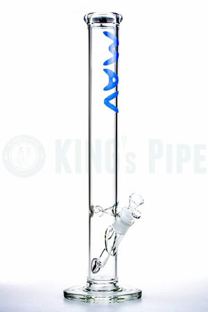 MAV Glass - 18'' Straight Glass Water Pipe