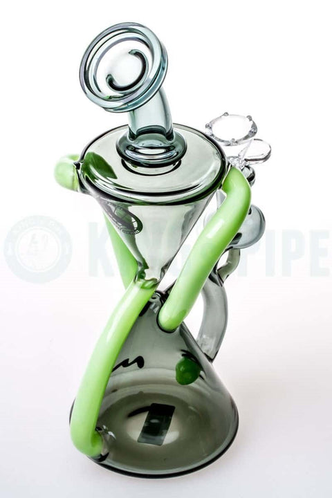 MAV Glass - Smokey Double Arm Recycler