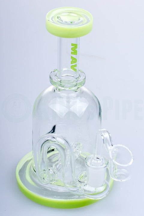 Maverick Glass - Gridded Inline Perc Banger Hanger Mini Rig