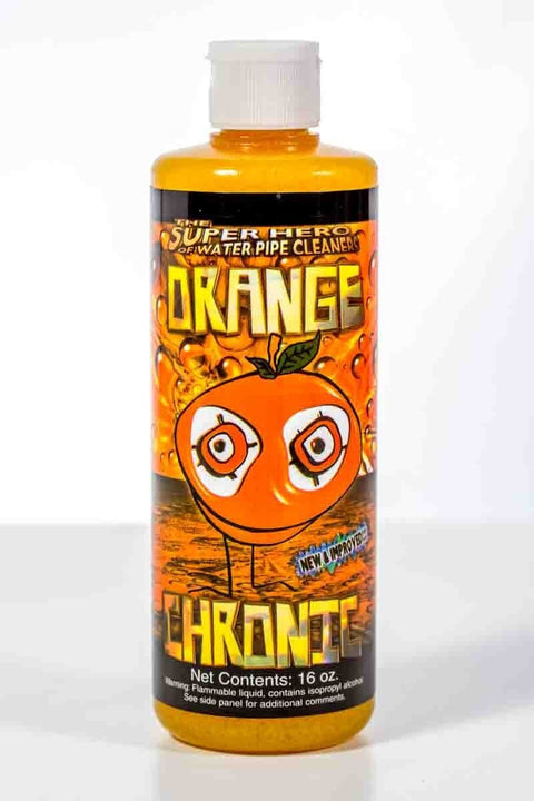 16 oz Orange Chronic Pipe Cleaner