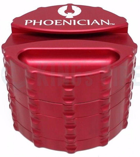 Phoenician Engineering - Large 4 Piece Grinder with Paper Holder