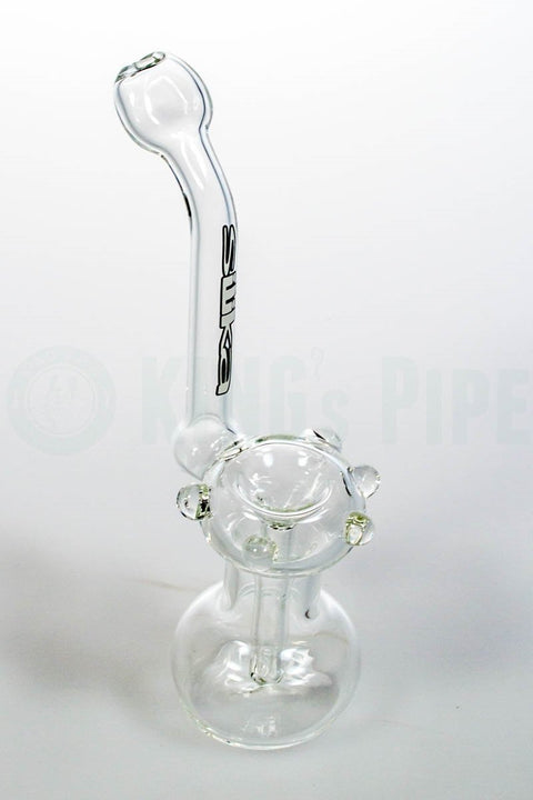 Silika Glass - Clear Sherlock Bubbler