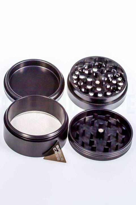 Space Case - 3.5 inch 4 Piece Titanium Grinder