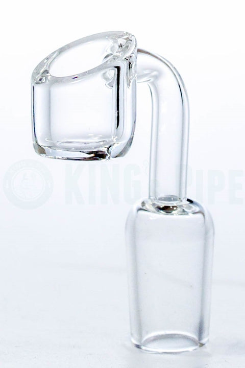4mm Thick Domeless Quartz Banger Nail