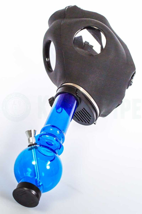 Black Gas Mask Bong
