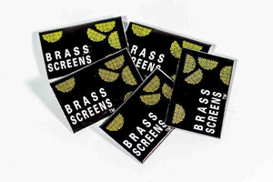 Brass Screens - 5 packs (25 screens)