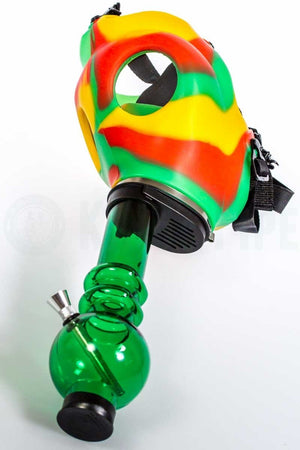 Rasta Gas Mask Water Pipe