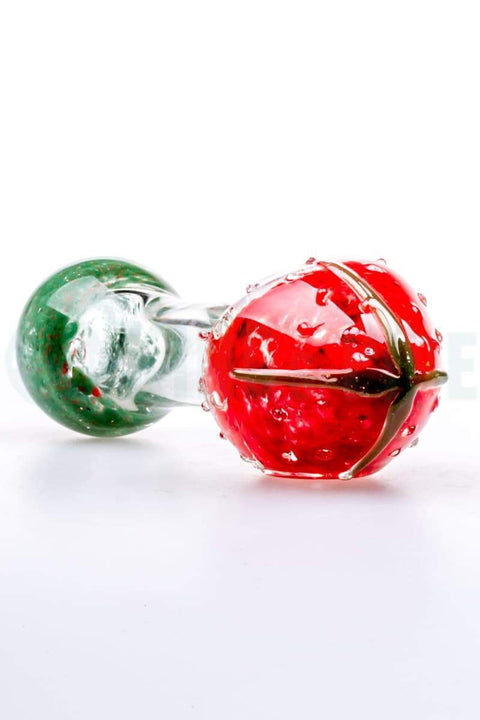 Strawberry Glass Spoon Pipe