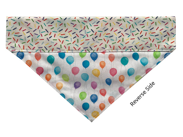 Birthday Sprinkles and Balloons - Reversible