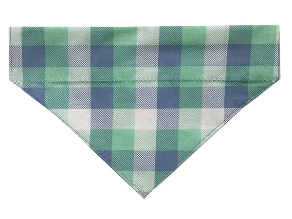 Green and Purple Pastel Plaid