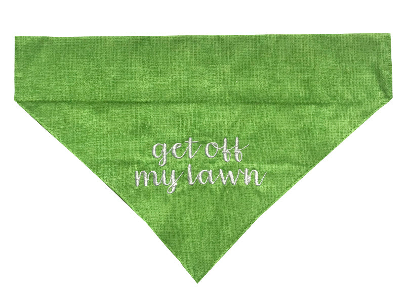 Get Off My Lawn - Light Green/Lower Case