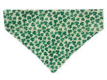 Load image into Gallery viewer, Small Green Glitter Shamrocks - Reversible