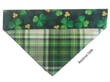 Load image into Gallery viewer, Green and Gold Shamrocks - Reversible