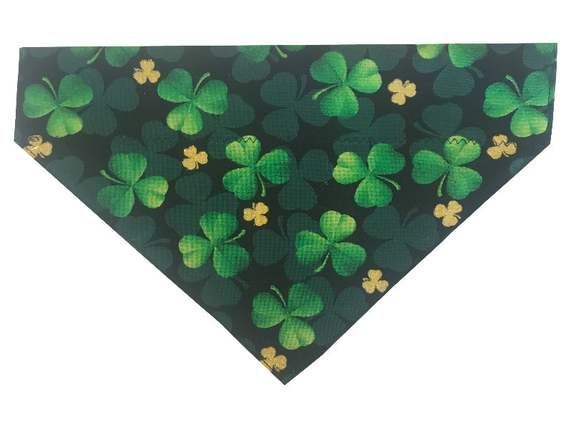 Green and Gold Shamrocks - Reversible