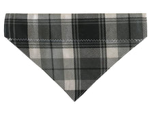 Load image into Gallery viewer, Grey and Black Plaid