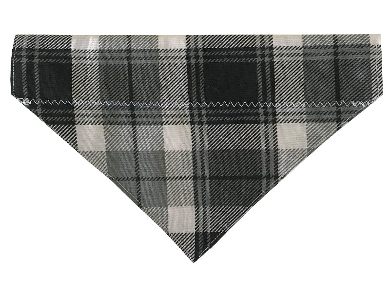 Grey and Black Plaid