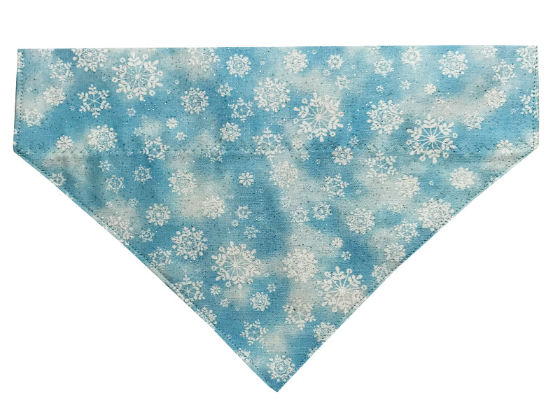 Light Blue Snowflakes