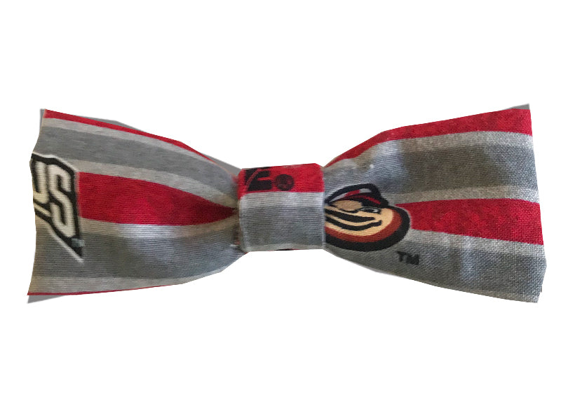 Medium OSU Stripe Single Bow
