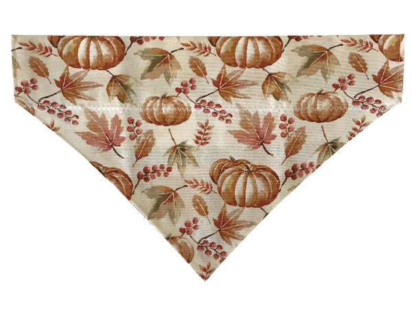 Pumpkins and Leaves - Reversible