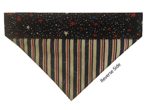Navy Stars and Stripes - Reversible