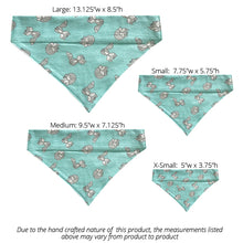 Load image into Gallery viewer, Teal Foxes - Reversible