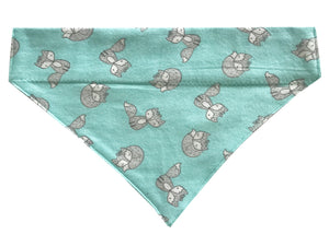 Teal Foxes - Reversible