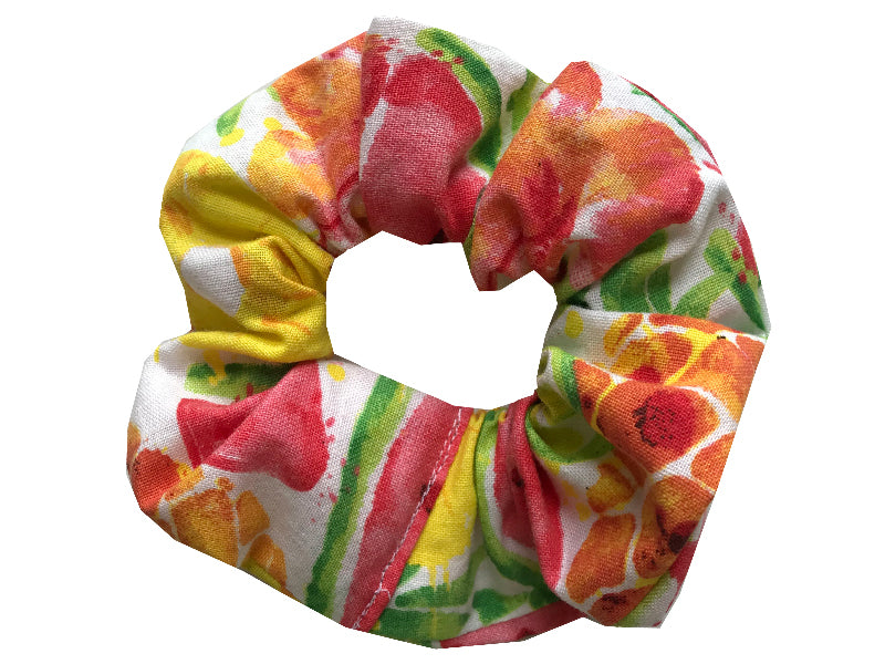 Tropical Fruit Scrunchie