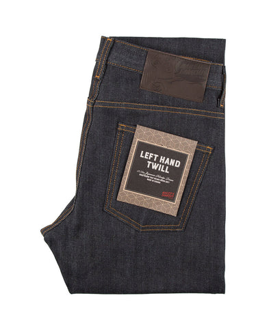 Left Hand Twill Selvedge Super Guy Indigo