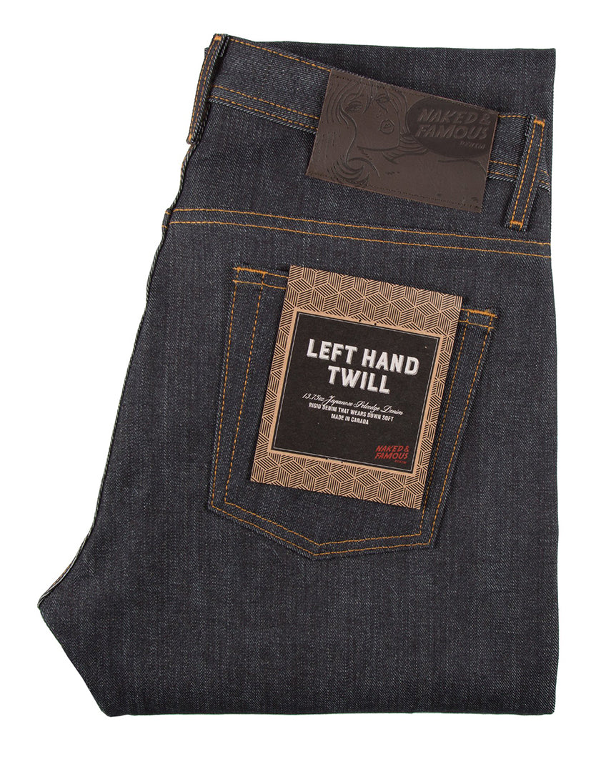 Left Hand Twill Weird Guy Denim Indigo