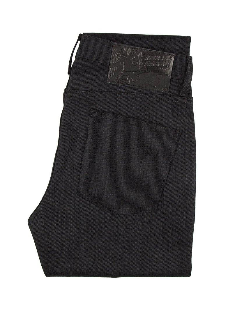 Black Power Stretch Selvedge Super Skinny Guy