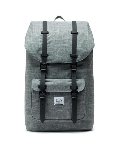 Little America Backpack Raven Crosshatch Black