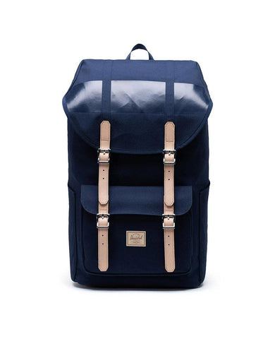 Little America Backpack Premium Cotton Peacoat