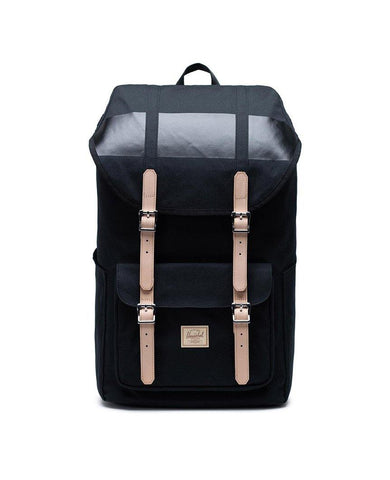 Little America Backpack Premium Cotton Black